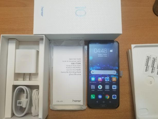 Huawei Honor 10 4/128Gb LTE Black COL-L29 US