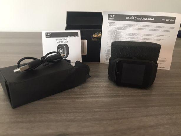 Zegarek Garett G25 czarny (smart watch ) jak nowy!!!