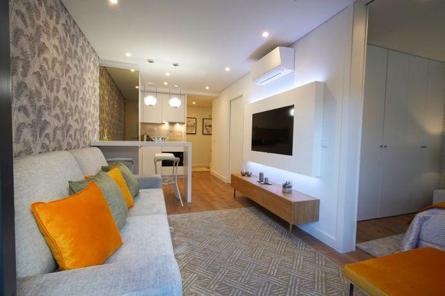 Apartamento t1 novo, totalmente equipado e com terraço!
