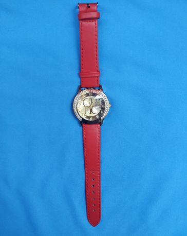 Часы женские, красные