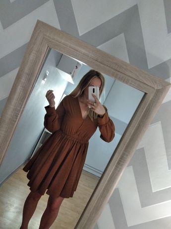 Sukienka camelowa WASSYL