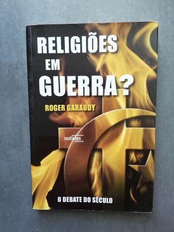 """Livro """"Religiões em guerra?"""" - Roger Garaudy"""
