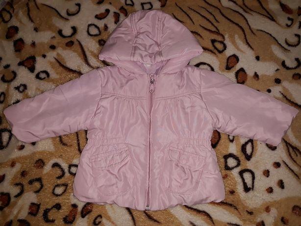 Куртка демисезонная на девочку на 1-1,5 года, 80-86 см