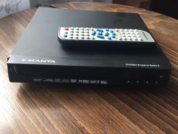 Manta DVD, DiviX, Jpeg, HDCD, MPEG4, MP3, USB Player