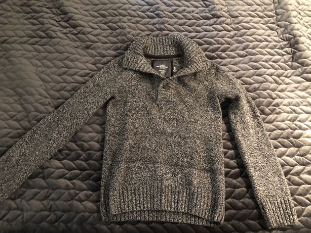Ciemnoszary sweter HM rozmiar S