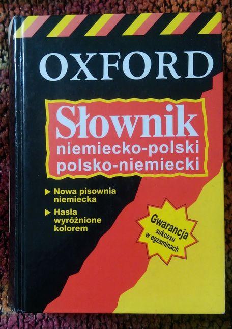 Oxford słownik niemiecko - polski i polsko - niemiecki