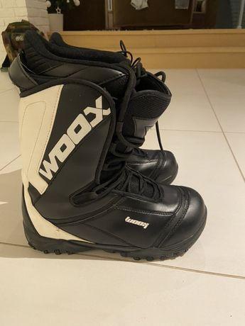 Buty snowboardowe woox 42 27 cm malo uzywane