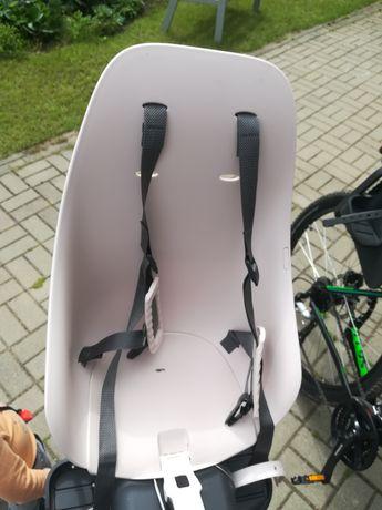 Fotelik rowerowy IKI Urban dwie sztuki. Szary i bezowy