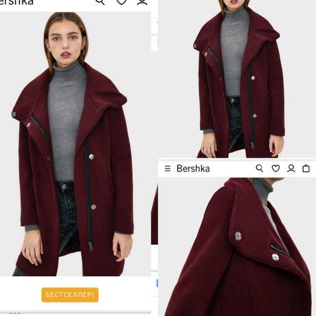 Зимове пальто Bershka