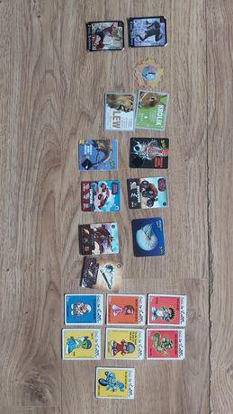 Różne karty Mr. Snaki