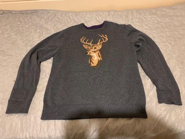 Stylowy sweter tommy hilfiger - rozmiar XL.