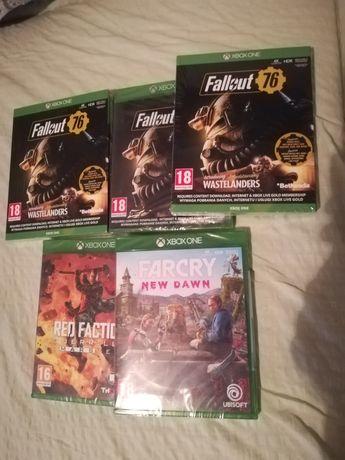 Sprzedam nowe gry na Xbox one