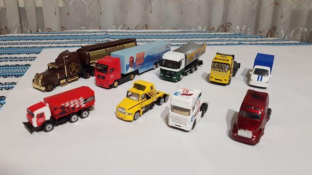 Продам модельки грузовиков