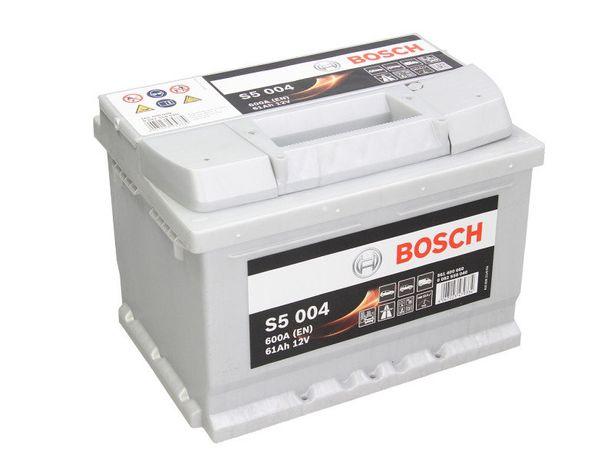 Аккумулятор BOSCH Silver 6ст-61А/ч R+ S5004