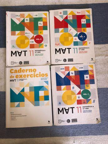Livros matemática 11 ano