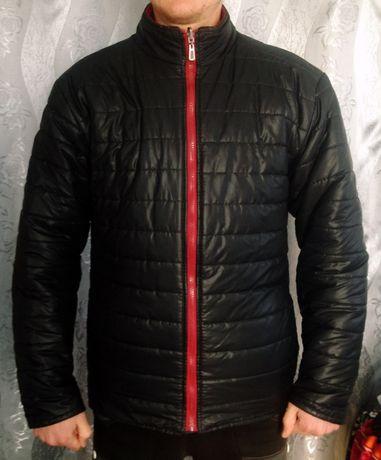 Демисезонная мужская двухсторонняя куртка пуховик