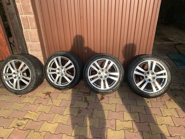 Felgi aluminiowe 17' 5x108 Reil Opony Michelin / Verdestein 235/45