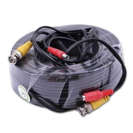 Кабель шнур для камер видеонаблюдения BNC+DC 5,5мм 10м 20м 30 40м50м Одесса - изображение 1
