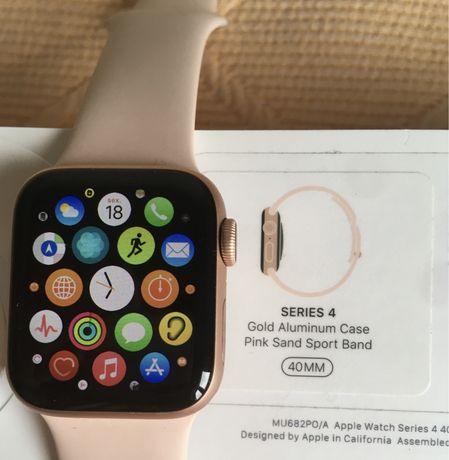 Apple Watch Serie 4 - 40mm GPS (Dourado)