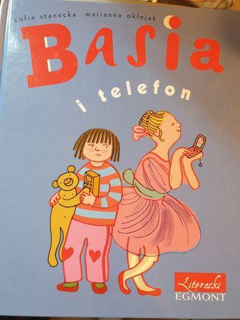 Kdiążka Basia i Telefon