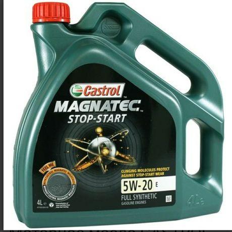 Моторное масло castrol 5W-20 4 литра
