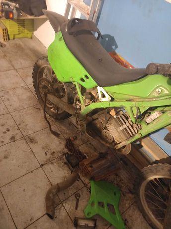 Kx 125cc com motor sachs pronta a correr nos classicas