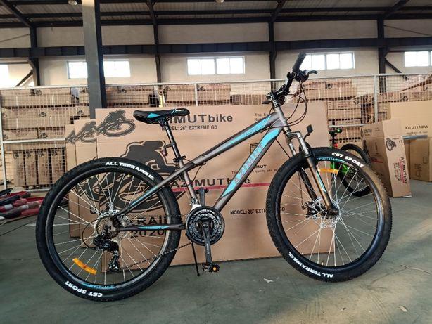 Спортивный горный велосипед подростковый Azimut Extreme 26 рама 14.