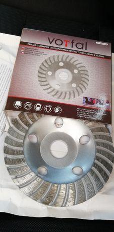 Tarcza garnkowa turbo 125mm segmentowa do szlifowania betonu