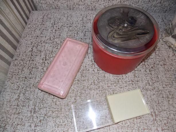 емкости для хранения советские. шкатулки пластик