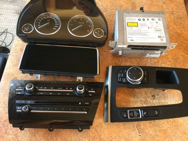 BMW x5 x6 e70 e71 f15 f16 торпеда потолок панель зеркало блок климата