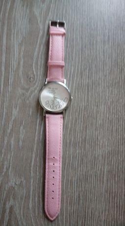 "zegarek z napisem ""who cares, I'm late anyway"""