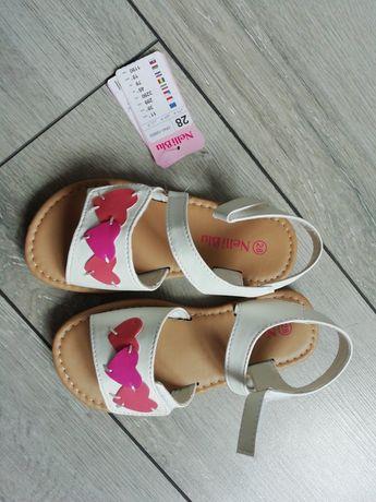 Sandałki 28 nowe białe