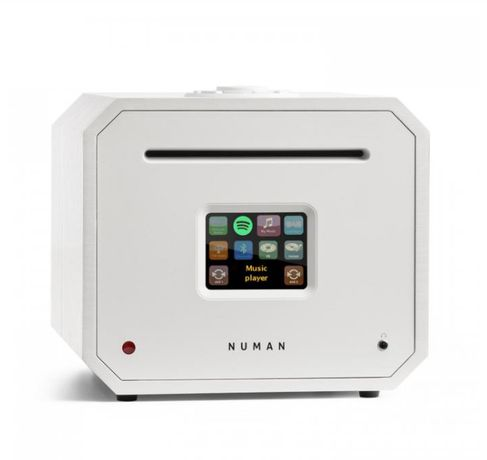 NUMAN Odtwarzacz CD, Bluetooth, USB, radio internetowe