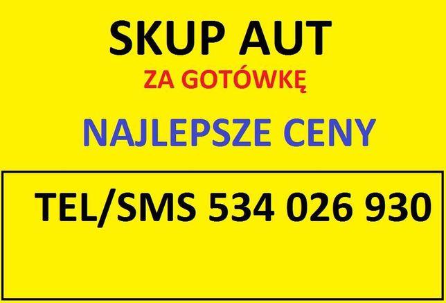 Skup aut najlepsze ceny Słupsk i okolice