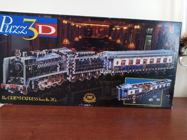 "Puzzle3D""The Orient-Express from the 20s"" firmy MB,na piankach 769elem"
