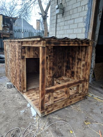 Будка для собаки утепленная , будка для овчарки , хаски , вольер