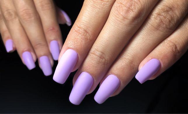 Покрытие Гель-лак, Наращивание ногтей и Кератиновое выпрямление волос.