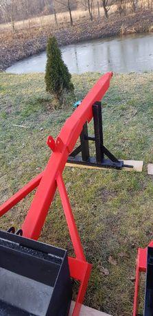 podnośnik udźwig linka na tył ciągnika tur tuł tur na tył