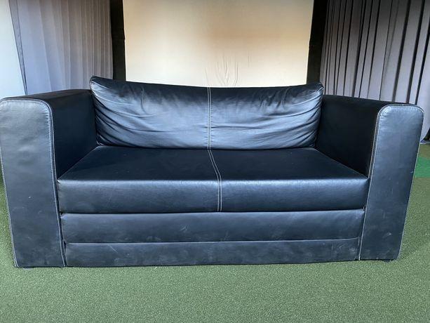 Ikea Sofa 2-osobowa eko skóra