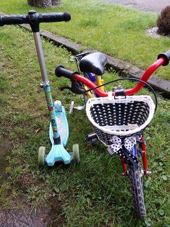 Самокат светящиеся колеса , велосипед детский