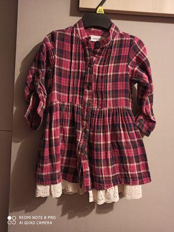 Sukienka dziewczeca 80cm / tunika do leginsow dla 2-3latki