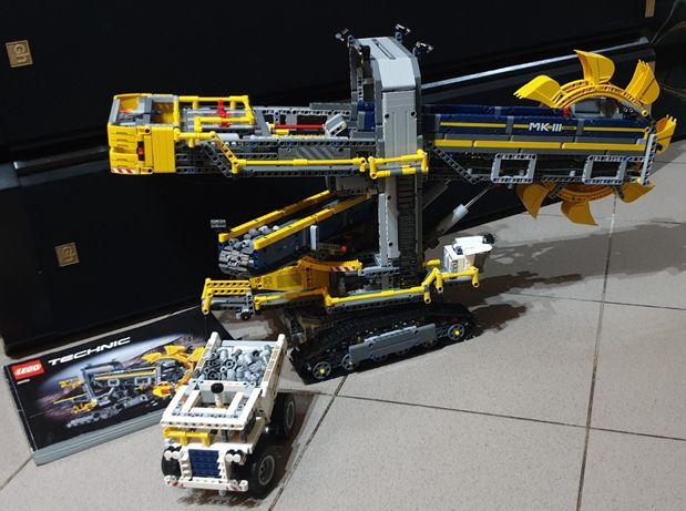 LEGO Technic 42055 Bucket Wheel Excavator raz złożone