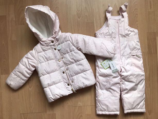 Куртка зимняя и комбинезон Carter's картерс