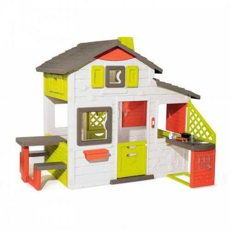 Домик для детей Smoby 810202 с кухней и звонком, 810200 будиночок
