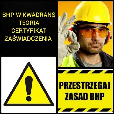 Szkolenia wstępne, okresowe, szkolenia BHP Białystok 24h