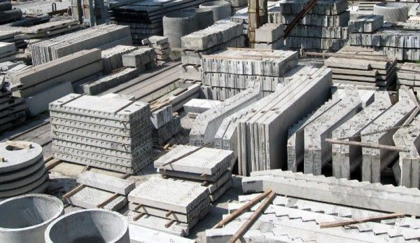 ЖБИ Кольца Блоки плиты перекрытия