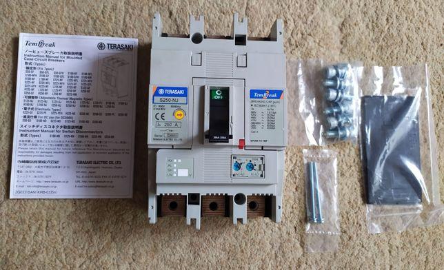 Новый автоматический выключатель TERASAKI Siemens Schneider на 250 А
