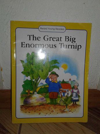 Книга на англійській мові the great big enormous turnip Award Young