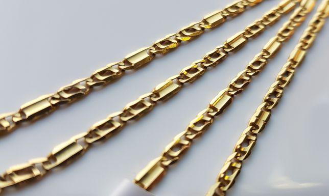 Piękny złoty łańcuszek pr.585 OKAZJA!