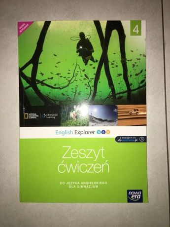 Sprzedam zeszyt ćwiczeń do angielskiego